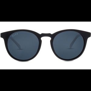 Diff Eyewear Charlie Polarized Black Sunglasses